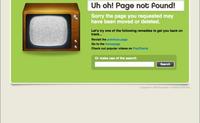 70个404错误页面图赏